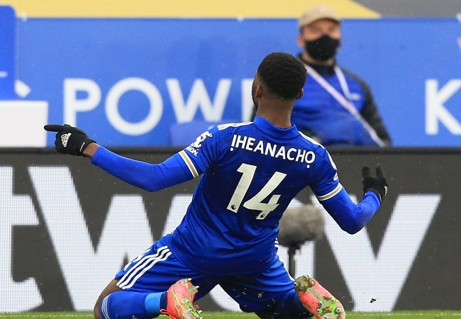 Iheanacho Nominated For EPL Player Of The Month Again