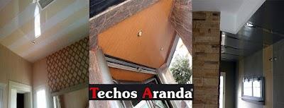 Techo de aluminio Madrid