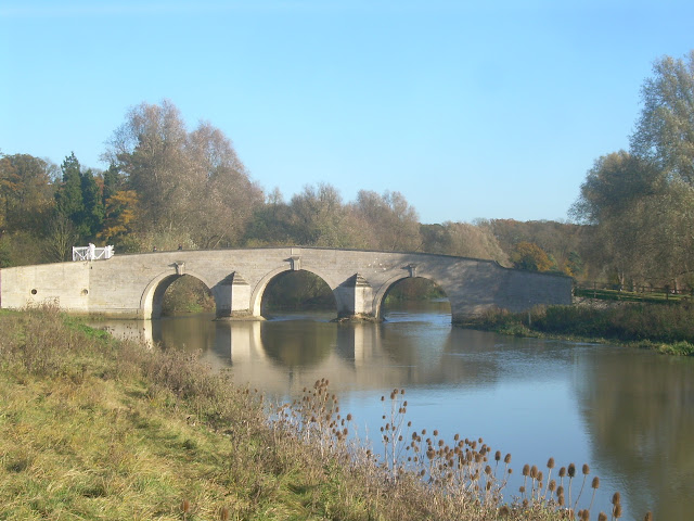 Wansford, Milton Ferry Bridge on the River Nene
