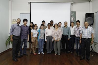 Toastmasters Meeting on 10 April, 2012.
