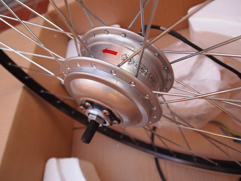 """Vendido Kit Mxus trasero 350w 36v rueda 26"""" doble pared para discos y Vs con pantalla, controlador, PAS, manetas y acelerador P7029787"""