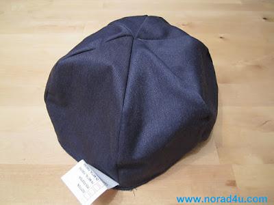 כיפה מבד חוסם קרינת רדיו לתפירה לכובע קיים