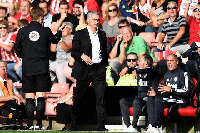 Mourinho urges Manchester United players to do better after 4-0 win over Palace