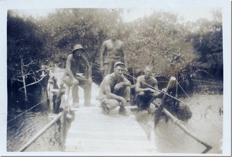 MILNE_Robert_men from his unit in WW II