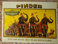 291 11-poster cirque Pinder
