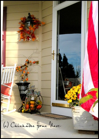Fall home tour, Chickadee Home Nest