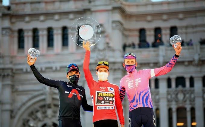 Las fotos de la 18ª etapa de la Vuelta a España 2020 - Fotos Ciclismo González