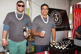 Photo: Volunteers pouring at the 2014 Beer Carnival, Atlanta, Georgia