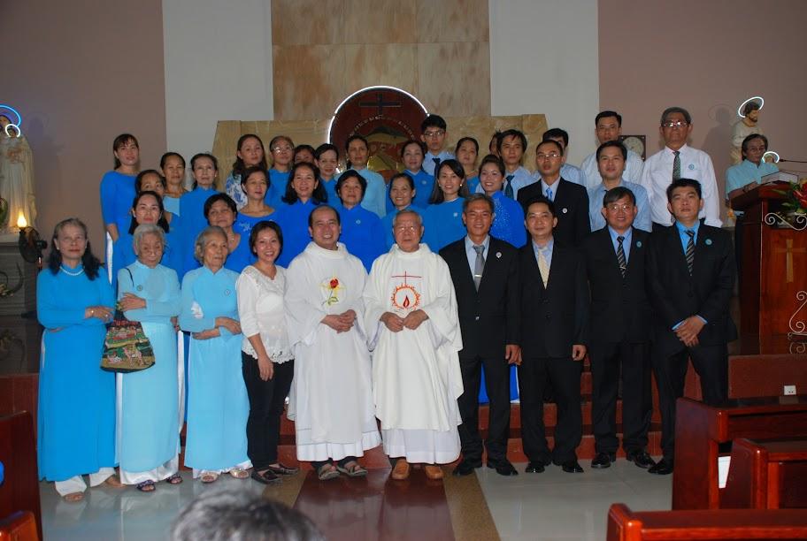 Giáo khu IV mừng lễ Đức Mẹ Vô Nhiễm