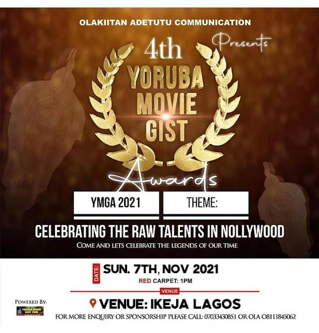 Organizers Announce Date For 2021 Edition of Yoruba Movie Gist Awards ~Omonaijablog