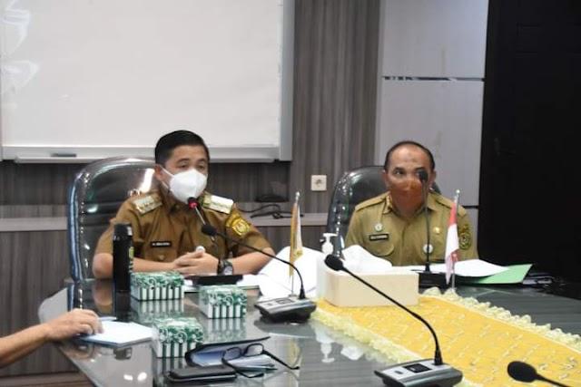 Bersama Forkopimda, Pemkot Banjarmasin Siapkan Pelaksanaan HUT ke-76 RI