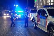 Satlantas Polres Soppeng Gelar Patroli Blue Light Kedepankan Sikap Humanis dan Persuasif