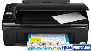 How to Reset Epson TX213 flashing lights error