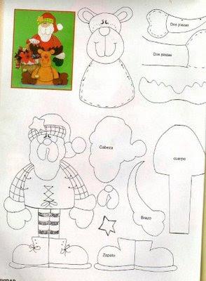 papa noel y reno plano de la web Navidad4
