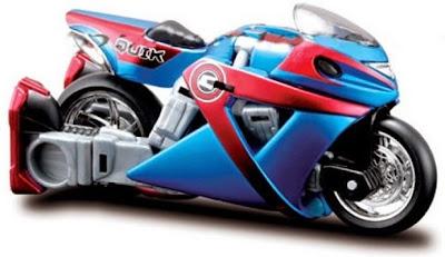 Xe đua đẹp mắt trong bộ Cykon biến hình QUIK