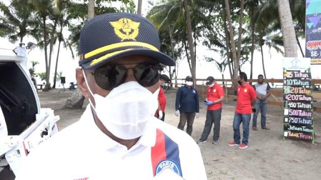 Benhur Tomi Mano Ajak Warga Jayapura Selalu Pakai Masker Jika Beraktifitas Diluar Rumah