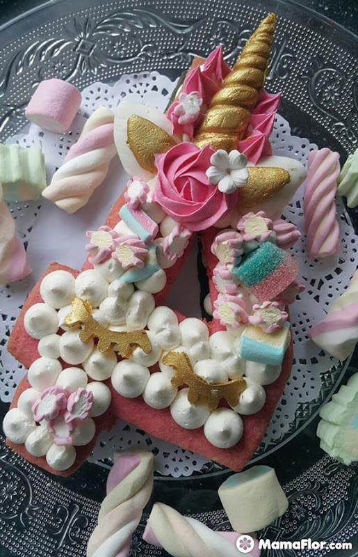 tortas con números 5