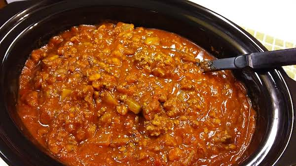 Papakent's Chili With Beans Recipe