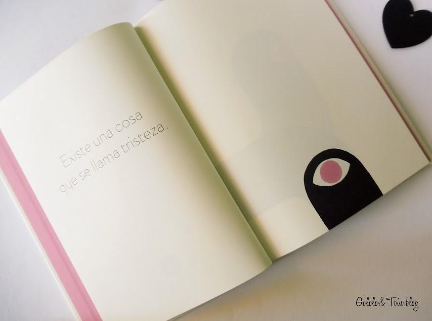 álbum ilustrado El libro de la tristeza de editorial sexto piso