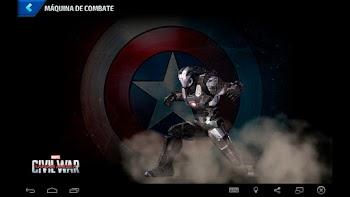 Máquina de Combate - Capitão América: Guerra Civil
