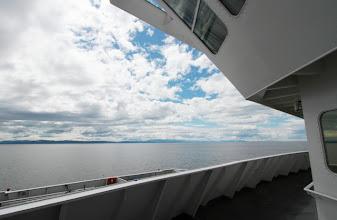Photo: Auf unserer Fähre Vancouver Island entgegen