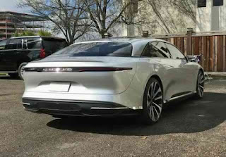 Lucid air electric sedan
