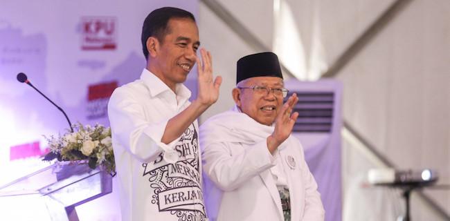 Andi Arief: Apakah Jokowi Sudah Kesulitan Bertemu Maruf Amin Dan Para Menteri?