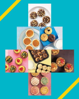 food press, Goldilocks, desserts, cakes