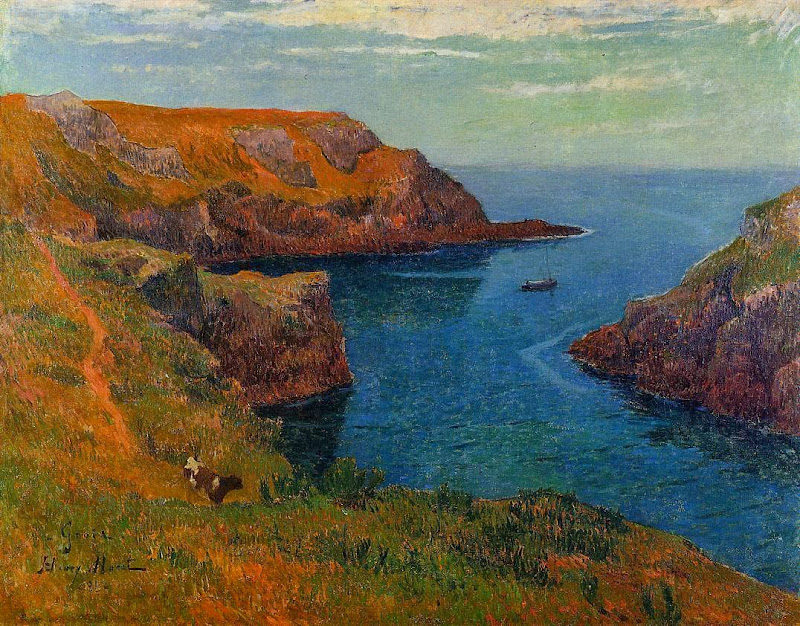 Henry Moret - Groux, 1891