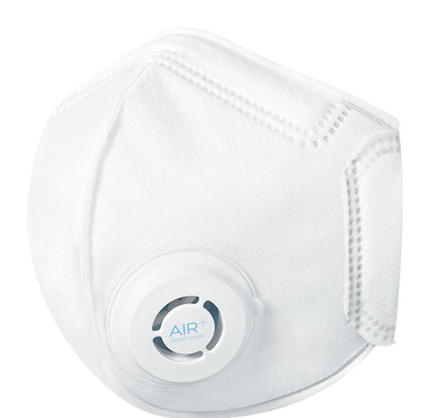 The AIR+ Smart Mask with Valve Cap