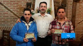 RICARDO DEL RÍO y JULIAN DEL RÍO, Campeones del VI CAMPEONATO AMIGOS RESTAURANTE EL CASERÓN