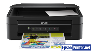 How to reset flashing lights for Epson ME-301 printer