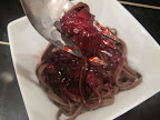 Dessert Recipe: Chocolate Pasta with Mixed Berry Sauce