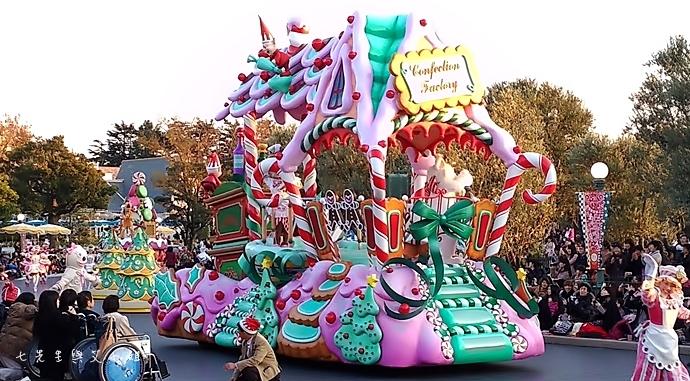 16 迪士尼聖誕村大遊行幸福在這裡夢之光大遊行