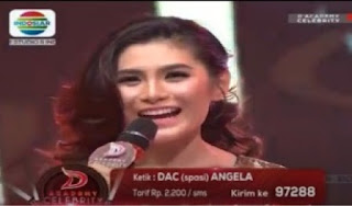 kumpulan foto angela lee kontestan dacademy celebrity indosiar