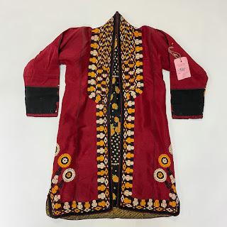 Silk Embroidered Haori Kimono