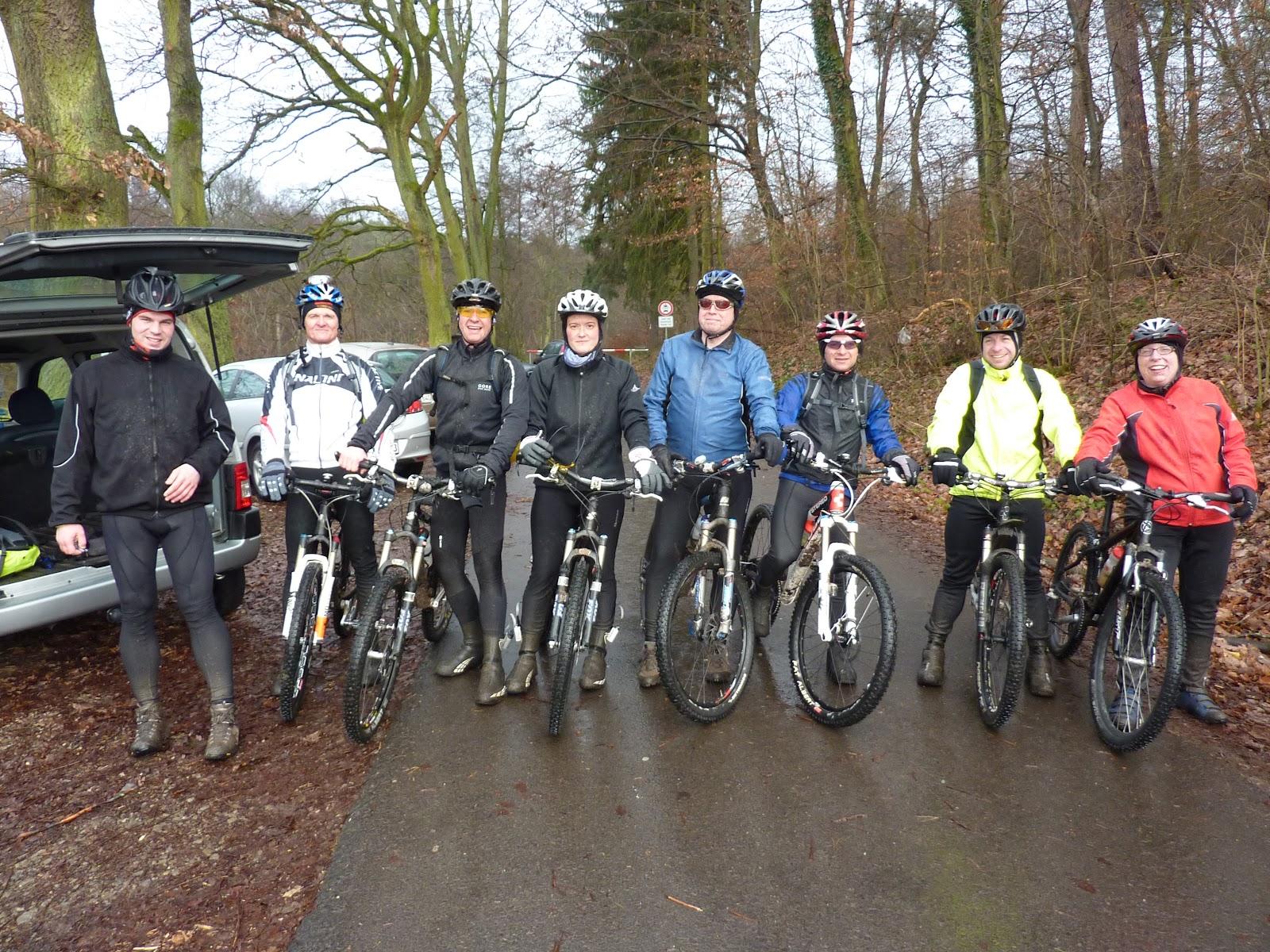 Spessart-Biker Jahresabschlusstour 2011