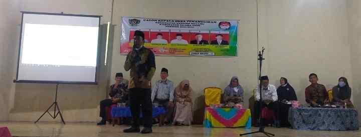 Debat Pilkades Penanggiran Berjalan Kondusif, Ini Pesan Kepala Desa Penanggiran..