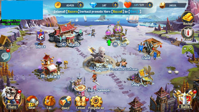 android besutan Netmarble yang rilis pada tanggal  Review Mystic Kingdom, Game Strategi RPG Anti Pusing dari Netmarble