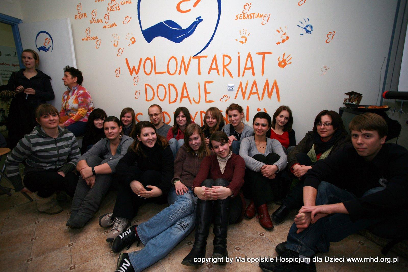 zebranie wolontariuszy MHD, czyli u nas w biurze:)