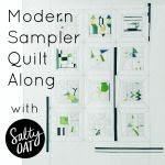 grab button for Modern Sampler Quilt Along
