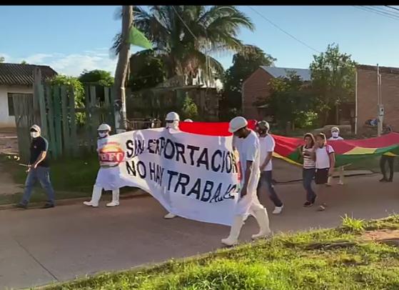 DECISIONES DEL REGIMEN DE ARCE  afectan a trabajadores de frigoríficos en San Ignacio de Velasco