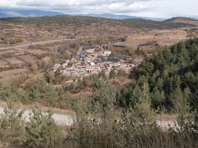 El pueblo de Riu de la Cerdanya