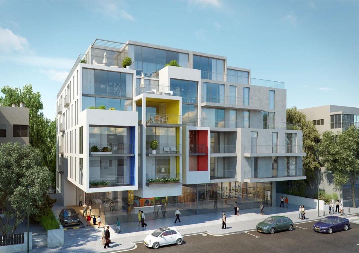 הוראות חדשות פרויקטים חדשים במרכז לב העיר - פרויקט תל אביב FD-52