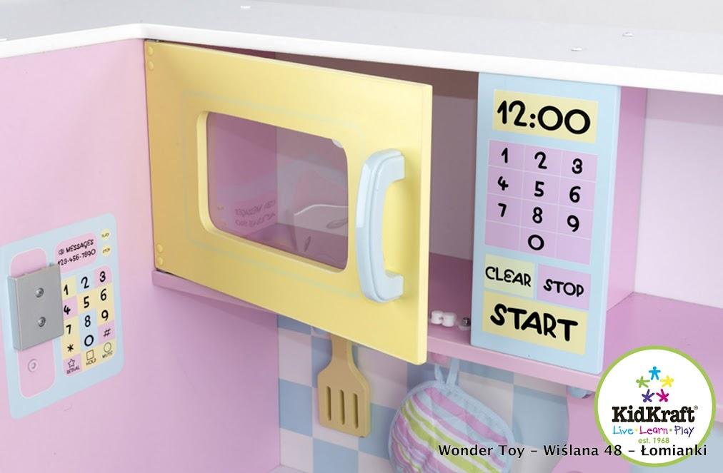 Kuchnie dla dzieci  Wielka Pastelowa KidKraft -> Kuchnie Dla Dzieci Kidkraft