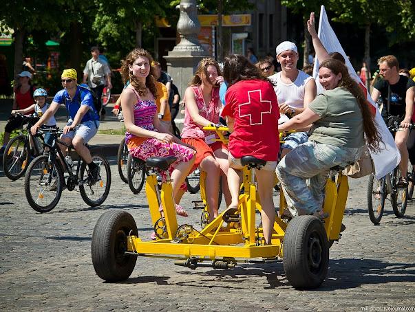 велосипед для 6 человек