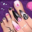 Fashion Nail Salon Game: Manicure and Pedicure App icon