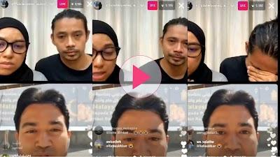 Live IG dengan warga Malaysia di Palestin, Noh Salleh tak boleh tahan sebak