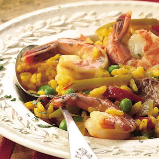 Sausage and Shrimp Paella Recipe