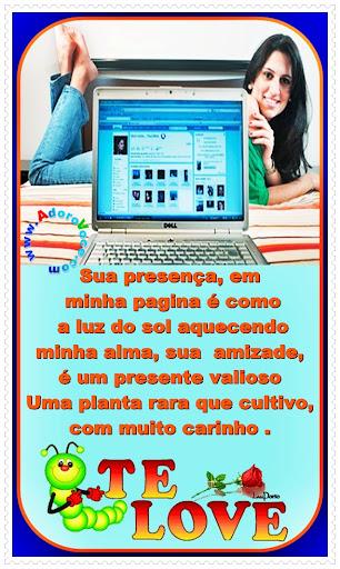 Recado Para Orkut - Amor: 1